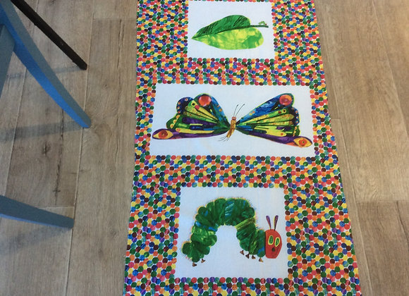 The Very Hungry Caterpillar  3 panels in one