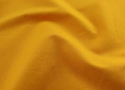 Gold Plain Fabric