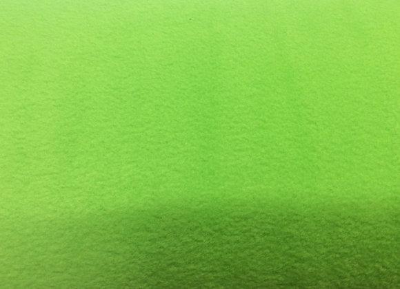 LIME GREEN ANTI PIL FLEECE