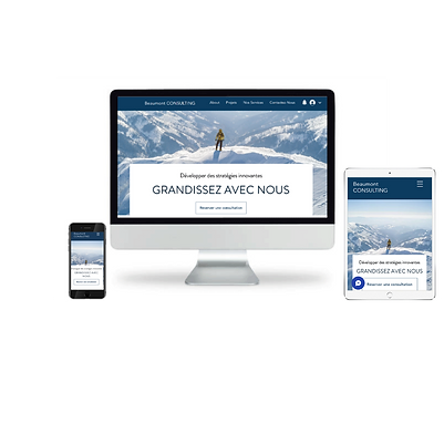 Création de site vitrine pour PME | Weblook Paris