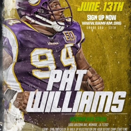 Pat Williams FREE Camp & Showcase
