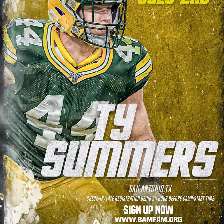 Ty Summers FREE Camp & Showcase