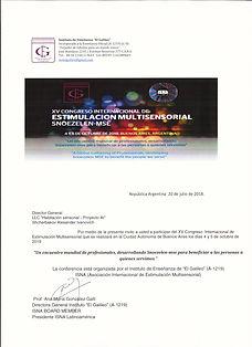 Мое Приглашение на Всемирный конгресс по