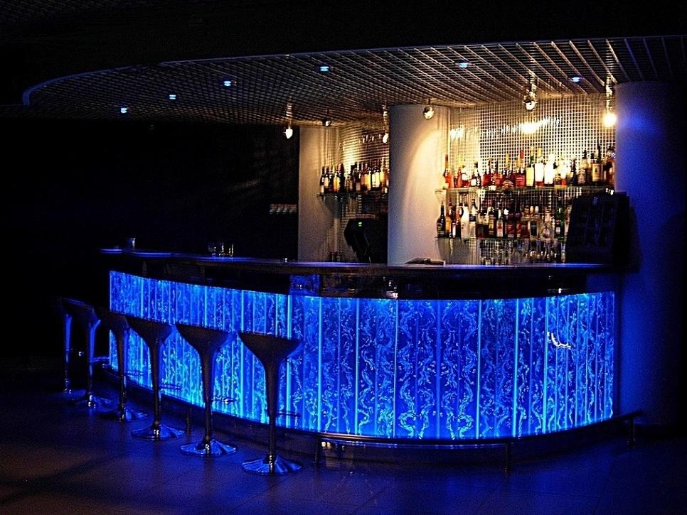 bar Барная стойка Длинна 6м с закруглени