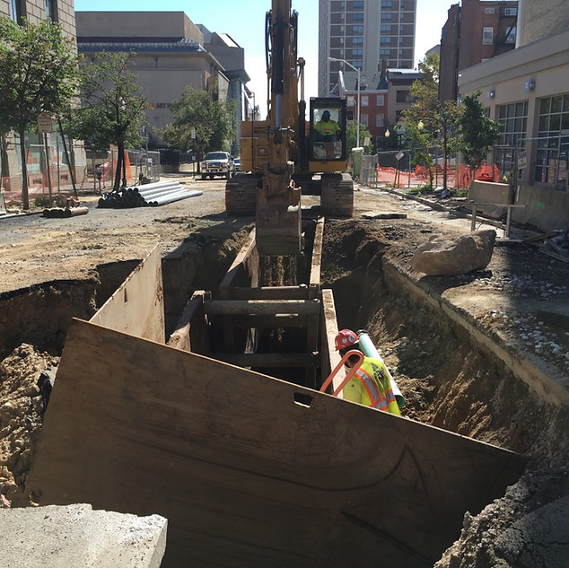 Constitution Street 115KV XLPE Cable Project
