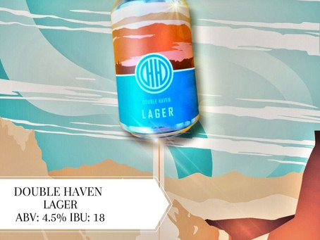 Sep18本地啤酒介紹Double Haven Lager ABV: 4.5%