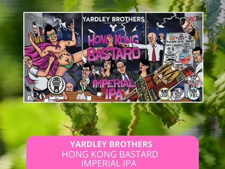 Sep25本地啤酒介紹 Yardley Brothers Hong Kong Bastard Imperial IPA ABV: 7.8%
