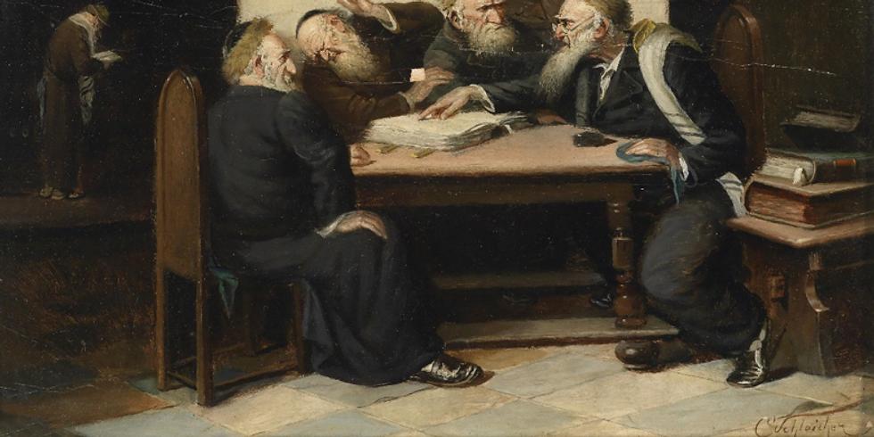 """Le Talmud de Babylone"" Conférence Zoom"