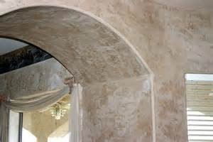 Interior House Painting DIY Plaster Effect