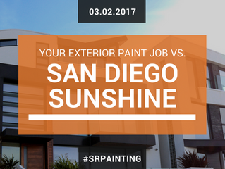 San Diego Exterior House Painter Tips: Your Home vs the Sunshine