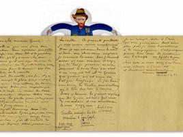 Uma carta muito especial ! A very special letter !