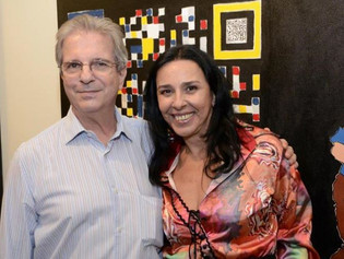 Vernissage Denise Araripe Pinturas