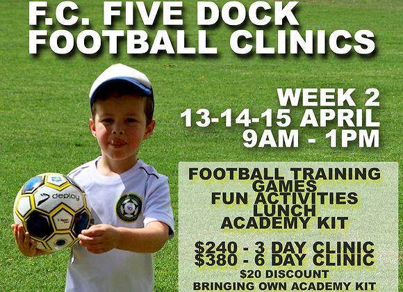 Week 2 - Football Clinic