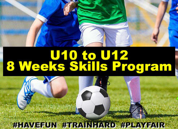 Ages 10 to 12 eight Week Development Program