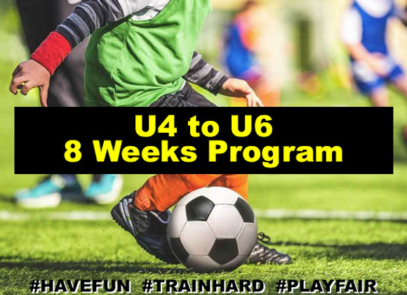 Ages 4 to 6 eight Week Program