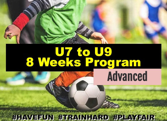 Ages 7 to 9 eight Week Program - Advanced