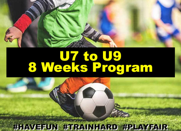 Ages 7 to 9 eight Week Program