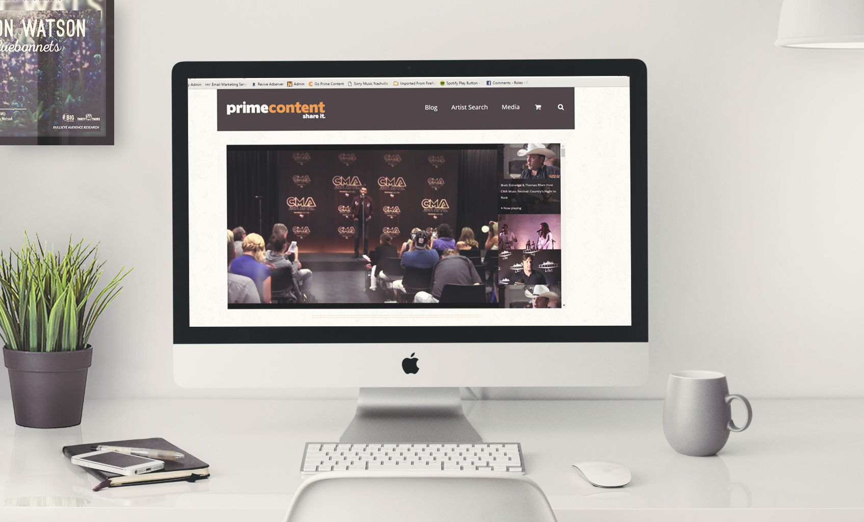 goprimecontent.com Website