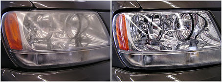 Technics headlight restoration