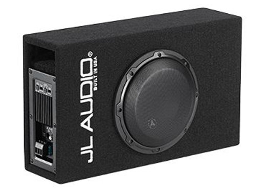 "JL Audio ACP108LG-W3V3 8"" Loaded Subwoofer Speaker & Enclosure Box & Amplifier"