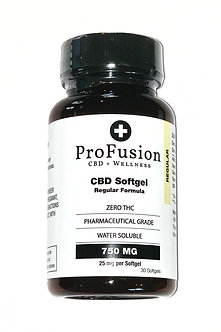 CBD Regular Softgels- 750 mg