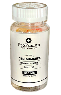 CBD Gummies - 600mg