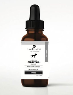 CBD Pet Oil Drops - 500 mg