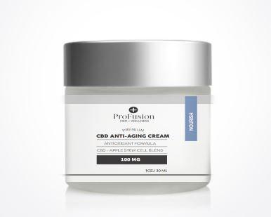 CBD Anti-Aging Cream with Apple Stem Cell - 100 mg