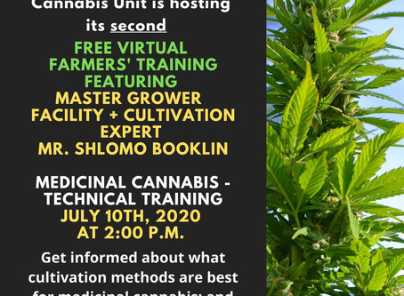 Medicinal Cannabis - Technical Training