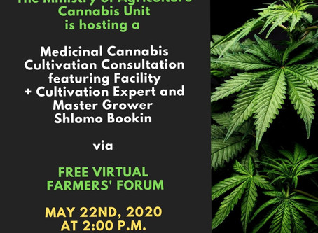 Medicinal Cannabis Cultivation: Virtual Farmers Forum