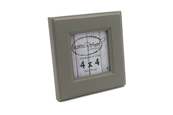 4x4 Moab picture frame - Gray Green