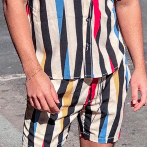 Shorts Estampado Listra Vintage