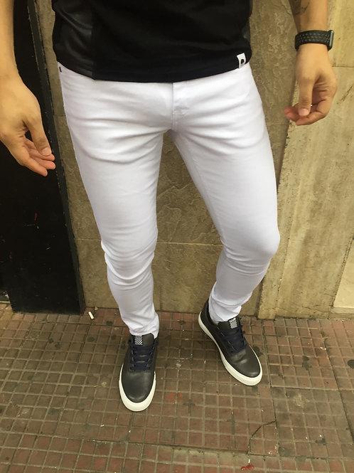 Calça Branca Sarja