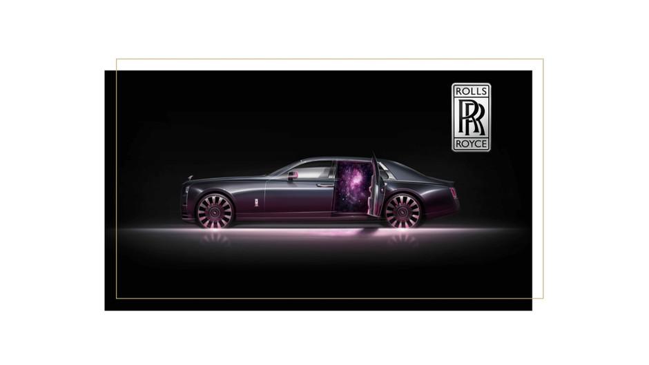 Rolls Royce défie la gravité