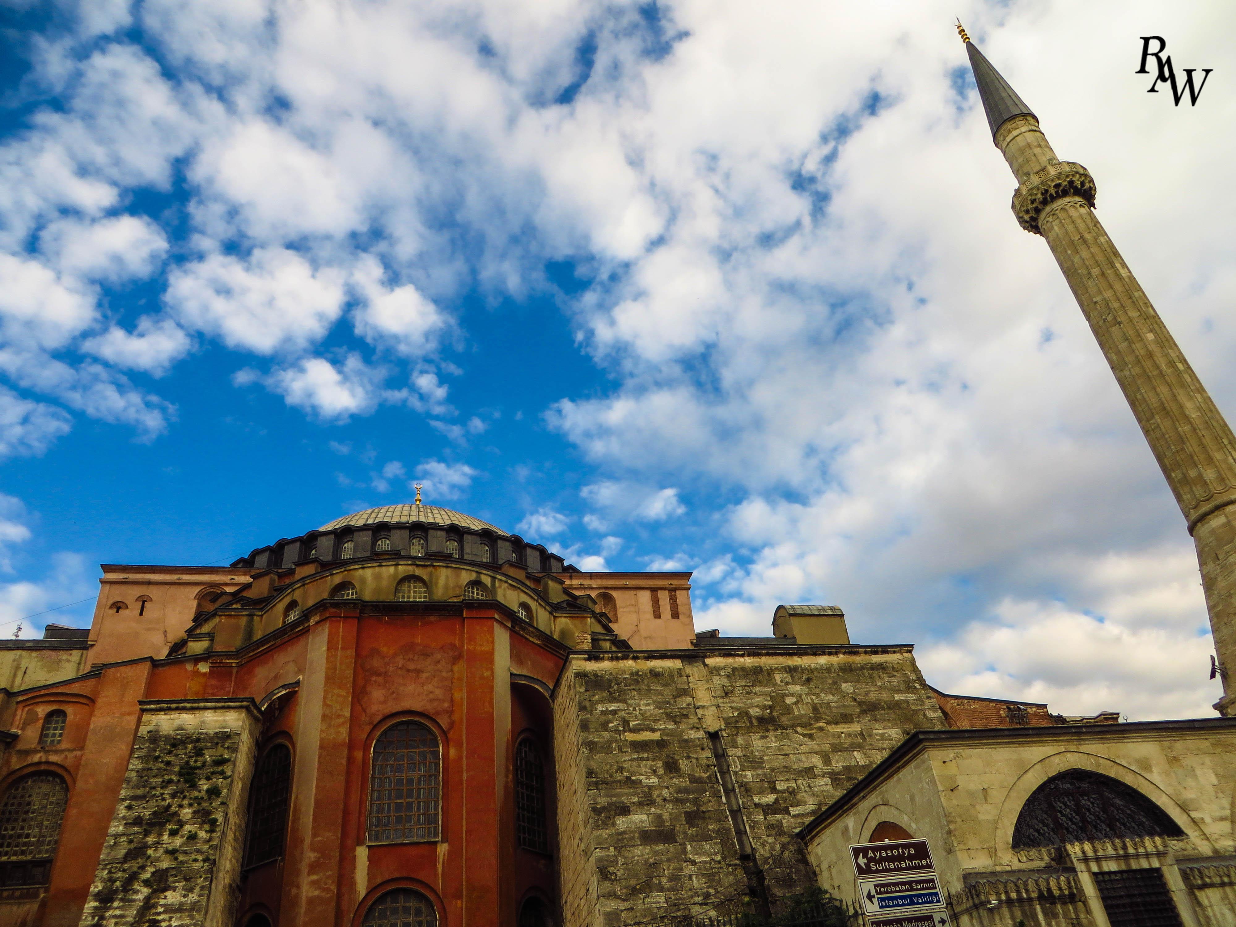 Landscape Hagia Sophia Istanbul