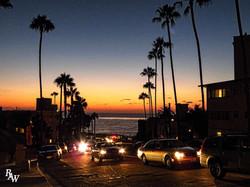 Landscape San Diego Sunset