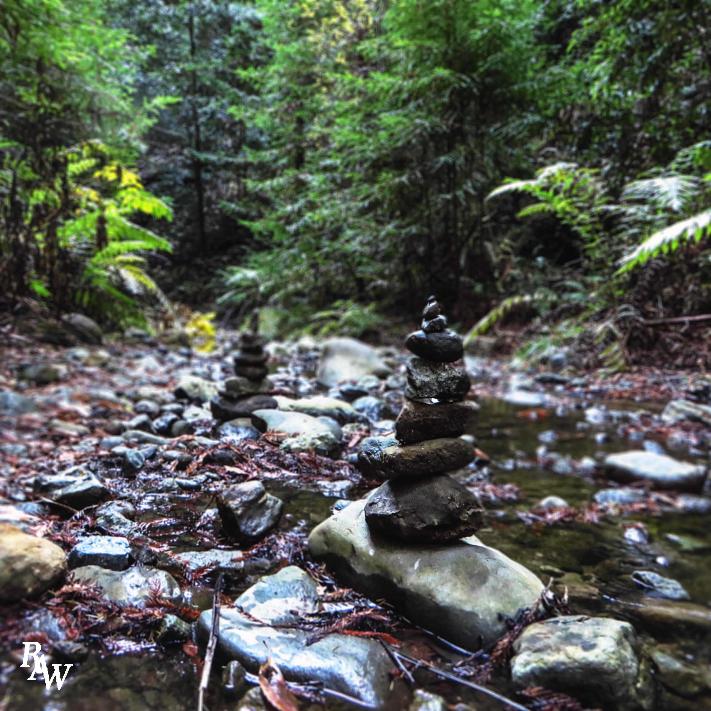 Nature Photography Rock Piles
