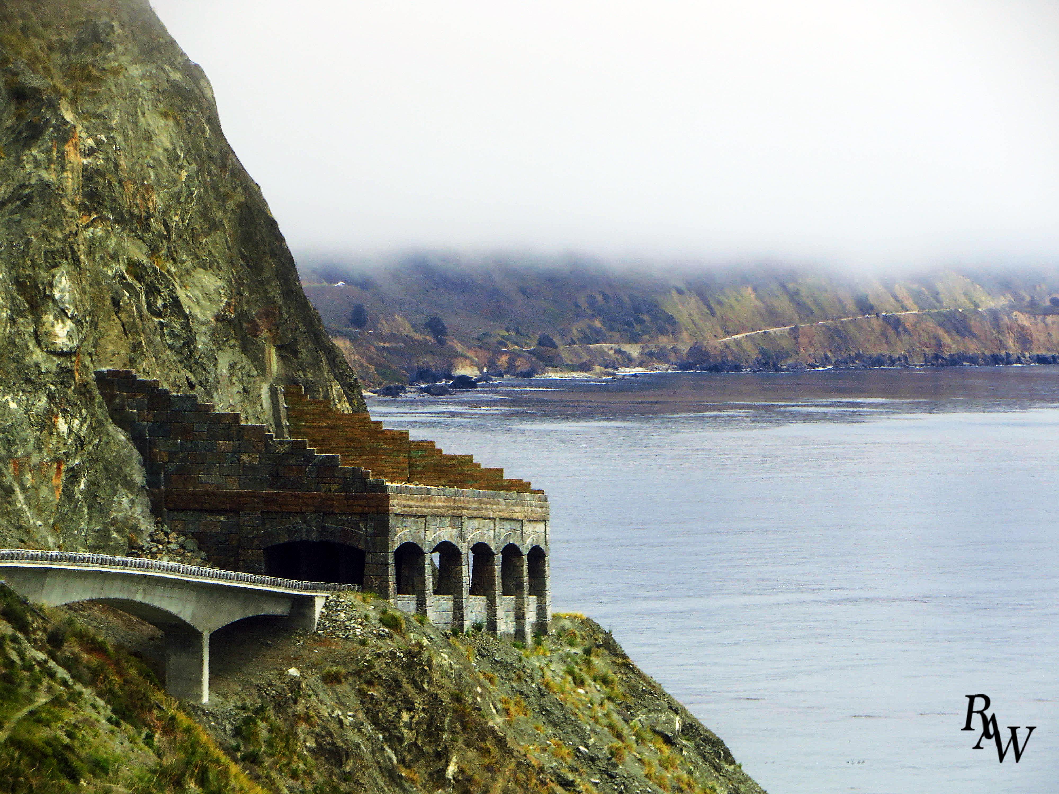 Landscape Highway 1 Big Sur