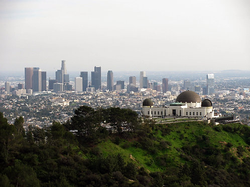 """5"""" x 7"""" Griffith Observatory Lustre Print"""