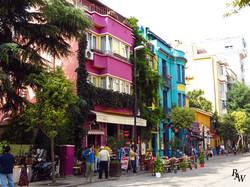 Istanbul Street Landscape
