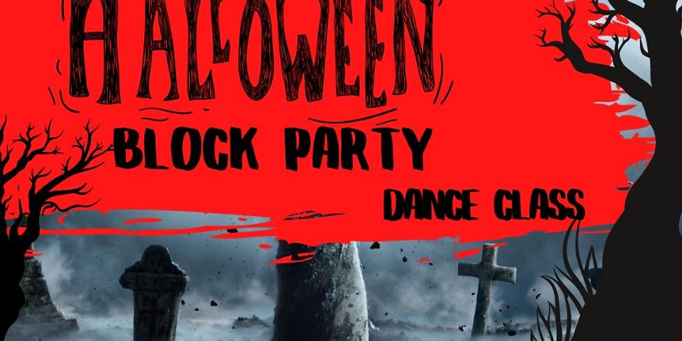 Halloween Block Party Dance Class