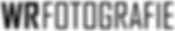 WR Fotografie logo tekst