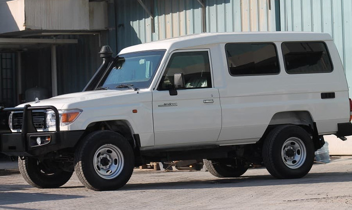 Toyota LC Cash In Transit