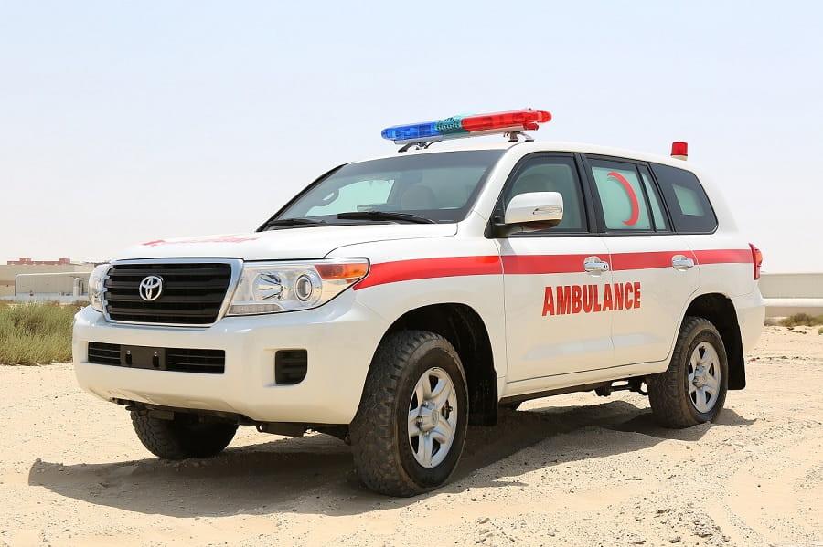 Toyota Land Cruiser Ambulance