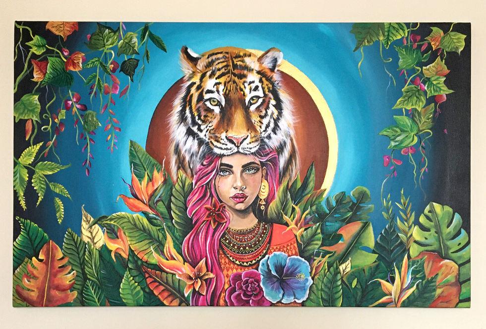 Mujer selva Dani Alfonso
