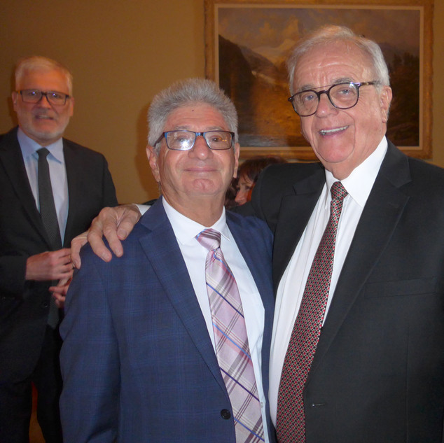 Dr Herb Borsuk, secrétaire-trésorier et Dr Jacques A. Boileau, président-sortant