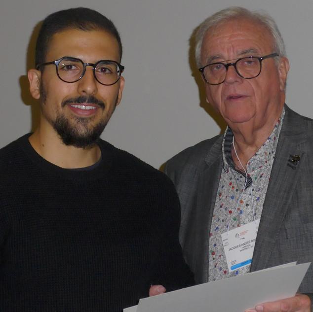 M. David Sabbah, récipiendaire du Prix de Professionnalisme 2019 de la Faculté de médecine dentaire de l'Université de Montréal
