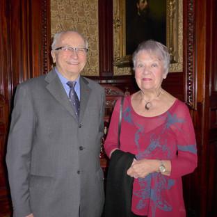 Dr Paul Germain accompagné de son épouse Anne