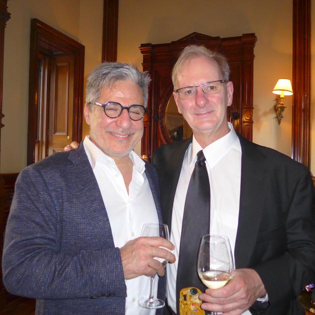 Dr Emanuel Alvaro et Dr Jean-Marc-Retrouvey
