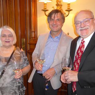 Épouse du Dr Prévost, Dr Matthieu Schmittbuhl, Dr André Prévost